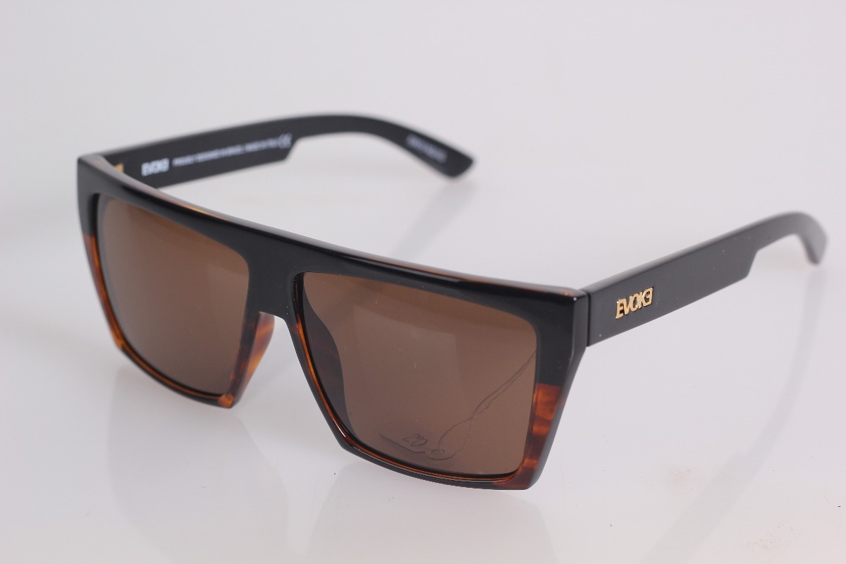 Óculos Evoke Evk15 Ng21g New Black Turtle  Brown + Nf - R  449,00 em ... db01c6d1ac