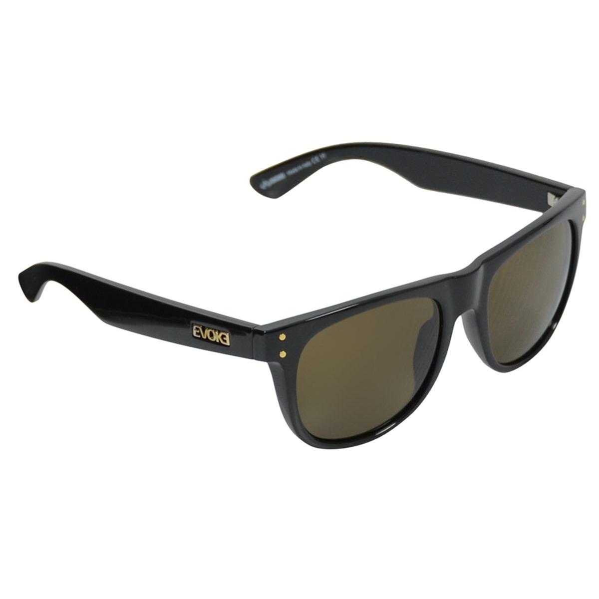 Óculos Evoke On The Rocks Black Shine Gold - R  596,70 em Mercado Livre aae8574efd