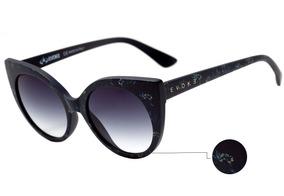 6686a4138 Óculos Evoke Super Cat Ta01 Black Matte Thermo Flowers Gold