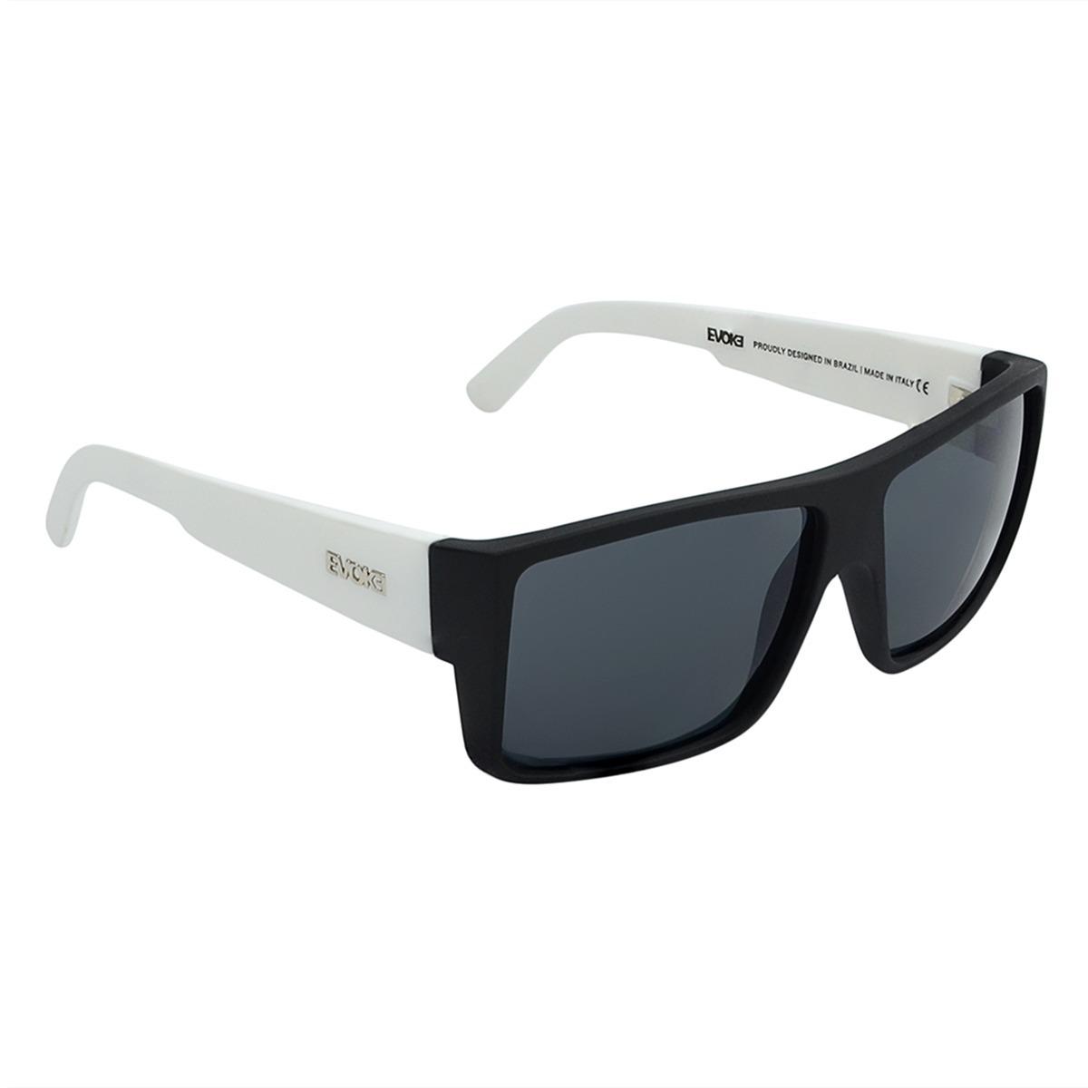 Óculos Evoke The Code A10 Aste Branca - R  456,00 em Mercado Livre 8090b810a2