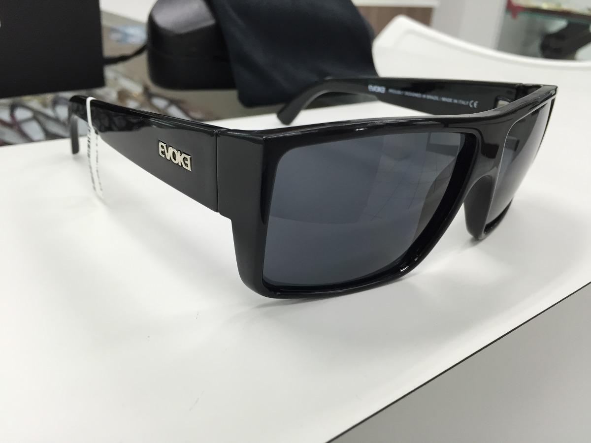oculos evoke the code preto brilho lente ciza escuro origina. Carregando  zoom. 26838bfaa8