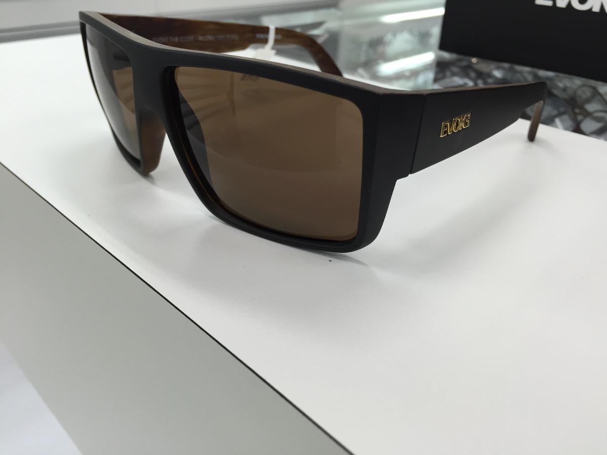 720d1c7e266e7 Oculos Evoke The Code Preto Fosco Marron Escuro Original P. - R  414 ...