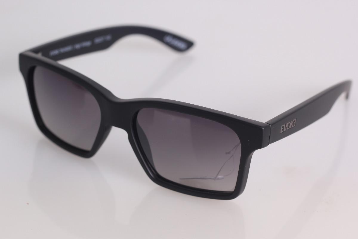142207b2b6621 óculos evoke thunder br01 black matte gun gray gradient +nf. Carregando  zoom.