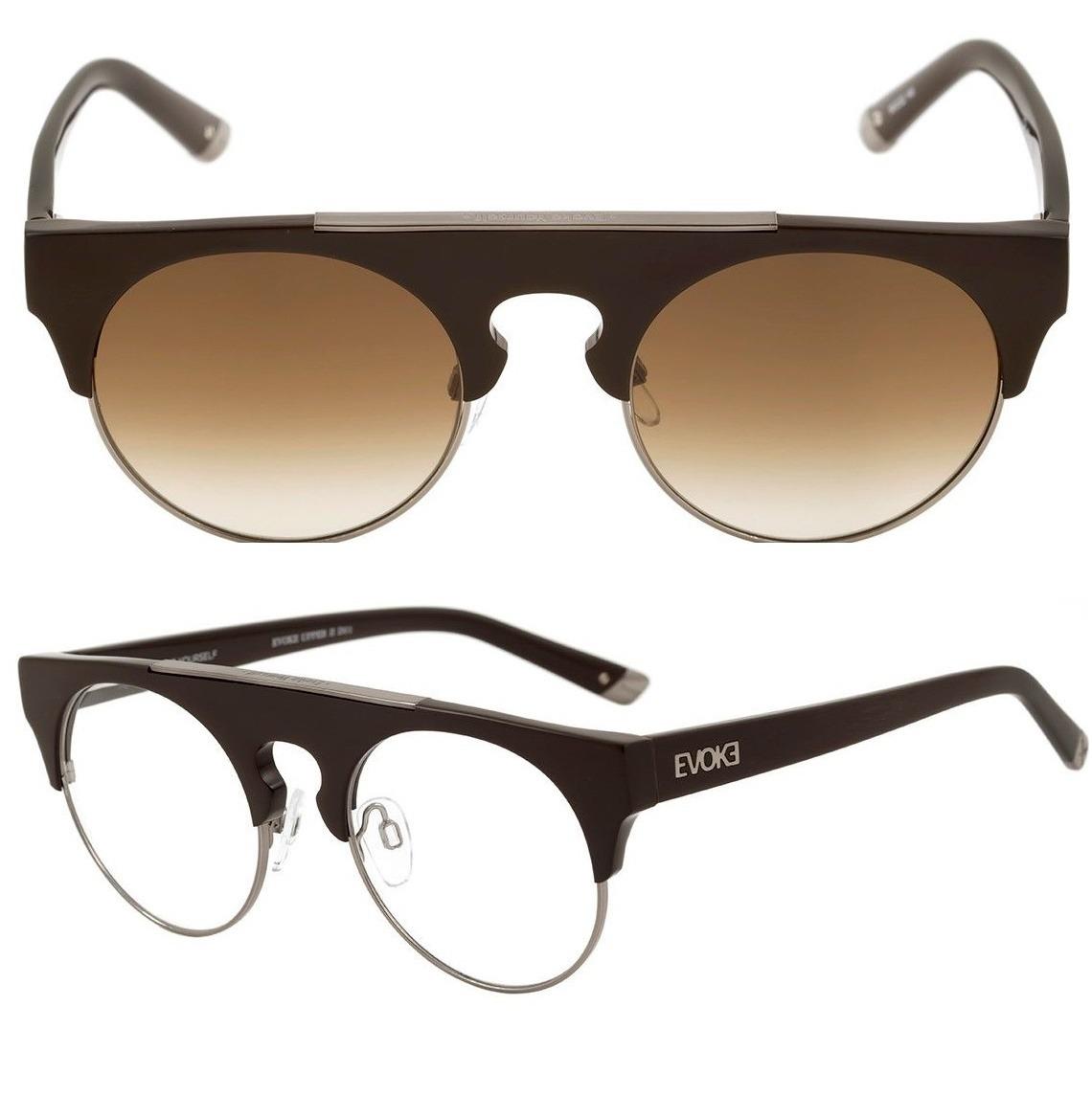 óculos evoke upper 2 original lentes grau transition + sol. Carregando zoom. 402926b2ed