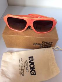 f68243d4e Oculos Evoke Wood Series 02 - Óculos no Mercado Livre Brasil