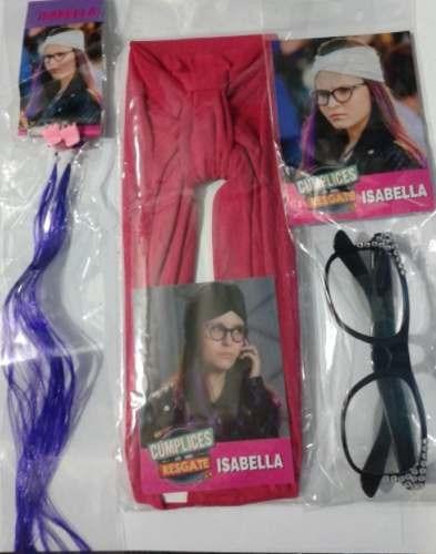 6efd58331112b Óculos+ Faixa + 3 Mechas Isabela Cúmplices De Um Resgate Sbt - R  26 ...