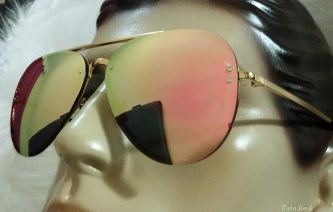 19973c442 Óculos Famoso Paris Rosê Luxo Importado Top Pronta Entrega - R$ 220,00 em  Mercado Livre