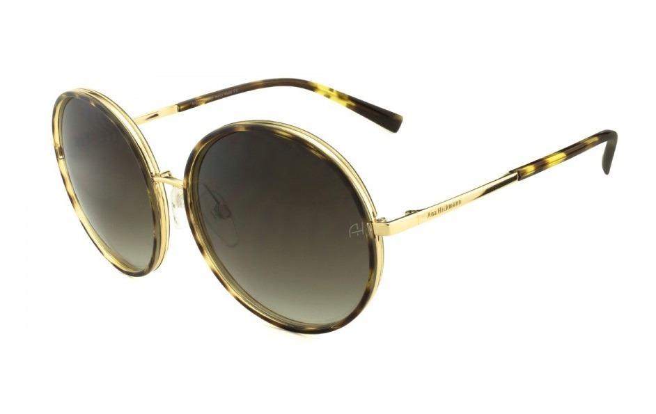 óculos feminino ana hickmann ah3137 g01 redondo - original. Carregando zoom. c94b9d2b49