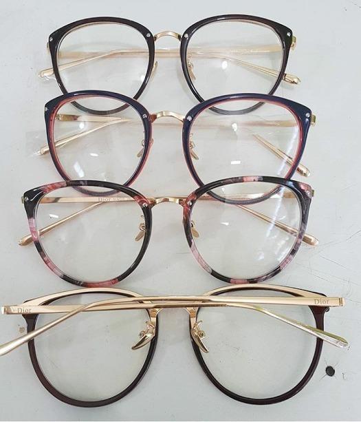 6e979c0e452b6 Oculos Feminino Armacao Grau Geek Redondo Quadrado Brinde - R  45