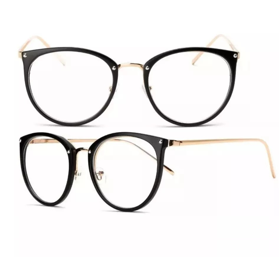 e057ccd4b óculos feminino armação grau geeek redonda vintage. Carregando zoom.