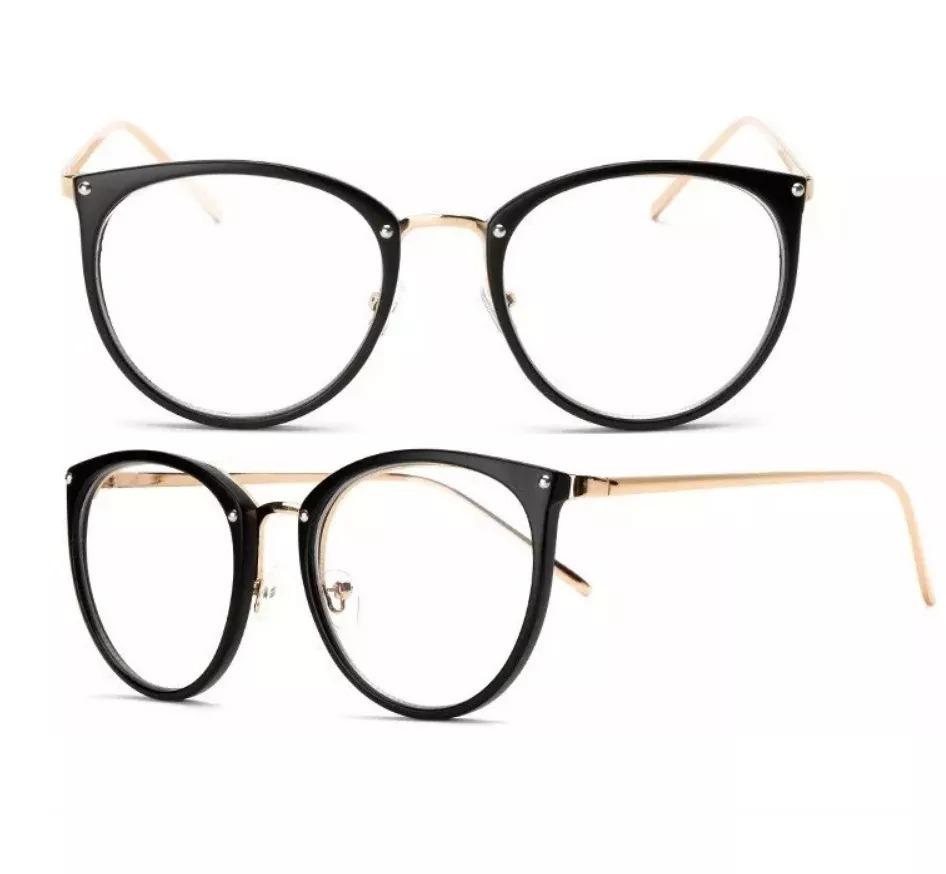 3328ba7a5b807 Óculos Feminino Armação Grau Geek Quadrado Vintage Cores Dio - R  39 ...