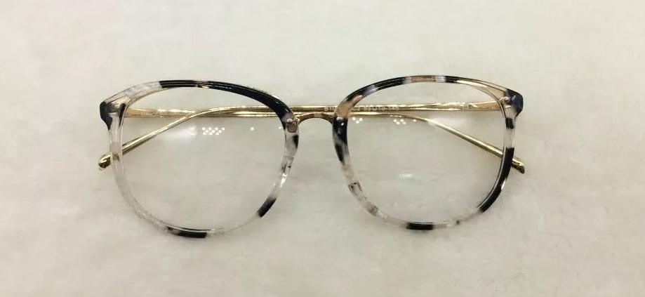 965dbd014 óculos feminino armação grau geek quadrado vintage flor a016. Carregando  zoom.