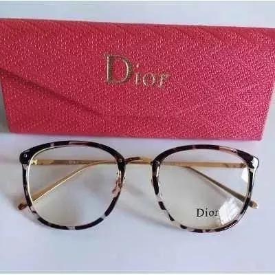 Óculos Feminino Armação Grau Geek Quadrado Vintage Nude Dio - R  39 ... ed9bac511d