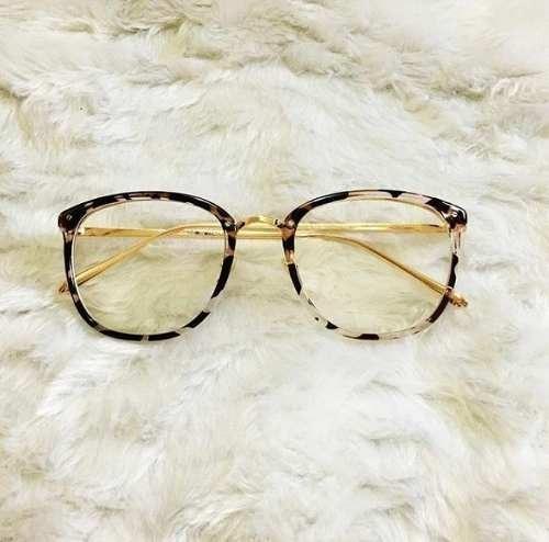 Óculos Feminino Armação Grau Geek Redondo Quadrado Brinde - R  47,00 ... 43a347c720