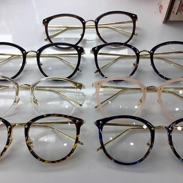 Óculos Feminino Armação Grau Geek Redondo Vintage Flora - R  95,00 em  Mercado Livre d95384c341