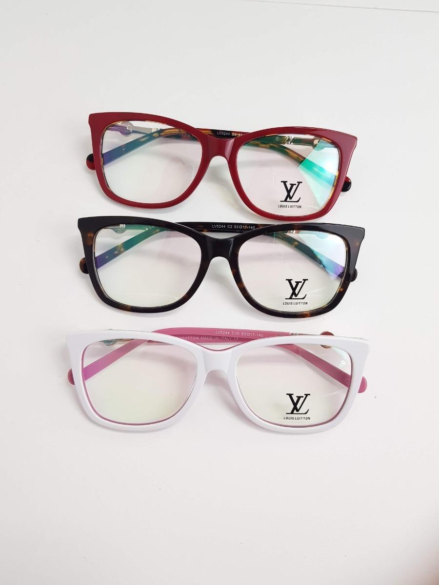 6d8044c12 óculos feminino armação grau louis vuitton réplica original. Carregando  zoom.