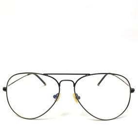 fc3016947 Oculos Aviador Lente Transparente Sem Grau De Outras Marcas - Óculos ...