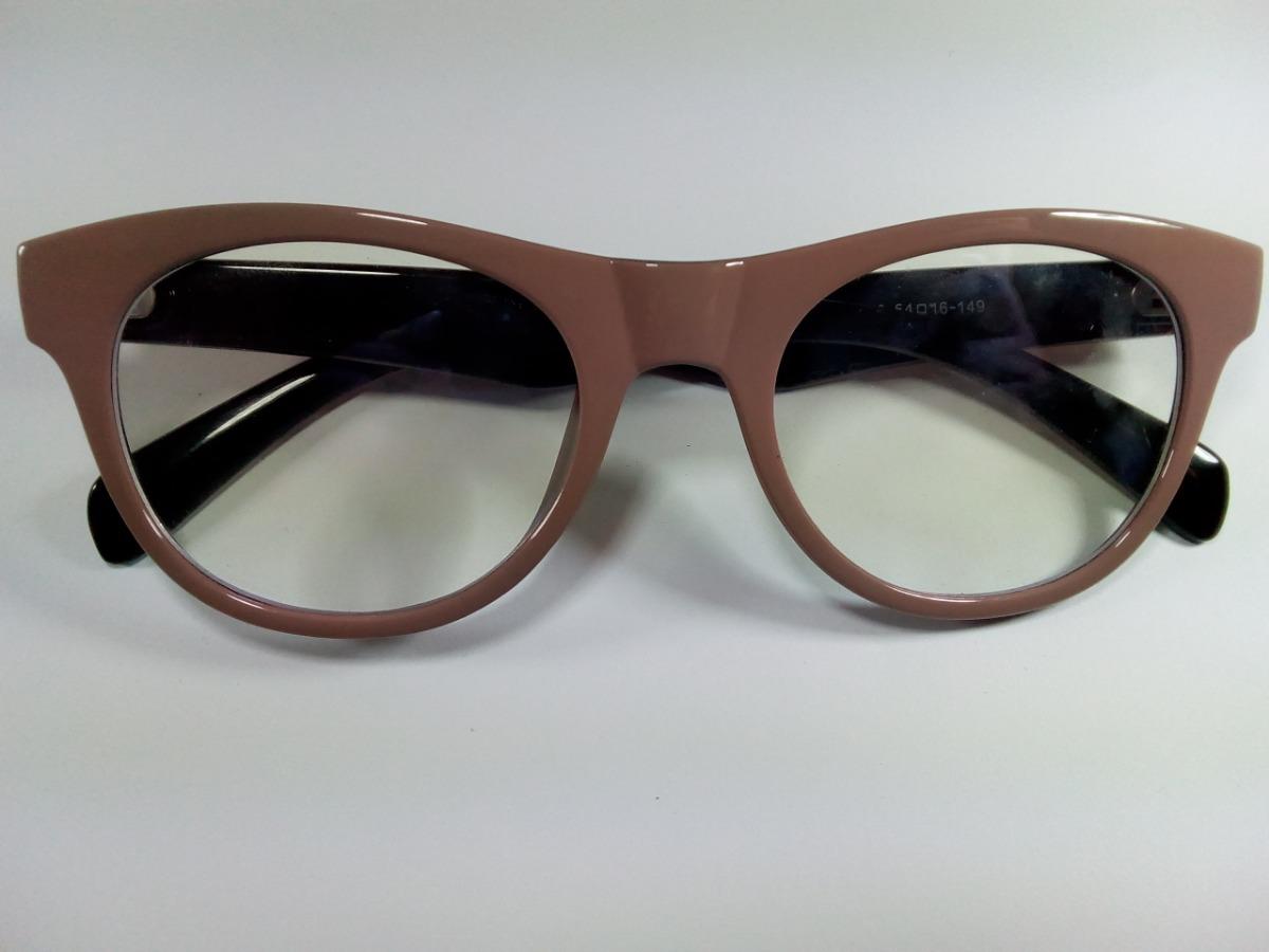 ebd9649d0 Óculos Feminino Armação P/ Grau Gatinha Tipo Ray Ban Retro - R$ 54 ...