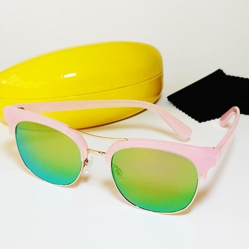 b96c554025aed Oculos Feminino Aviador Metal Espelhado Promoção - R  50