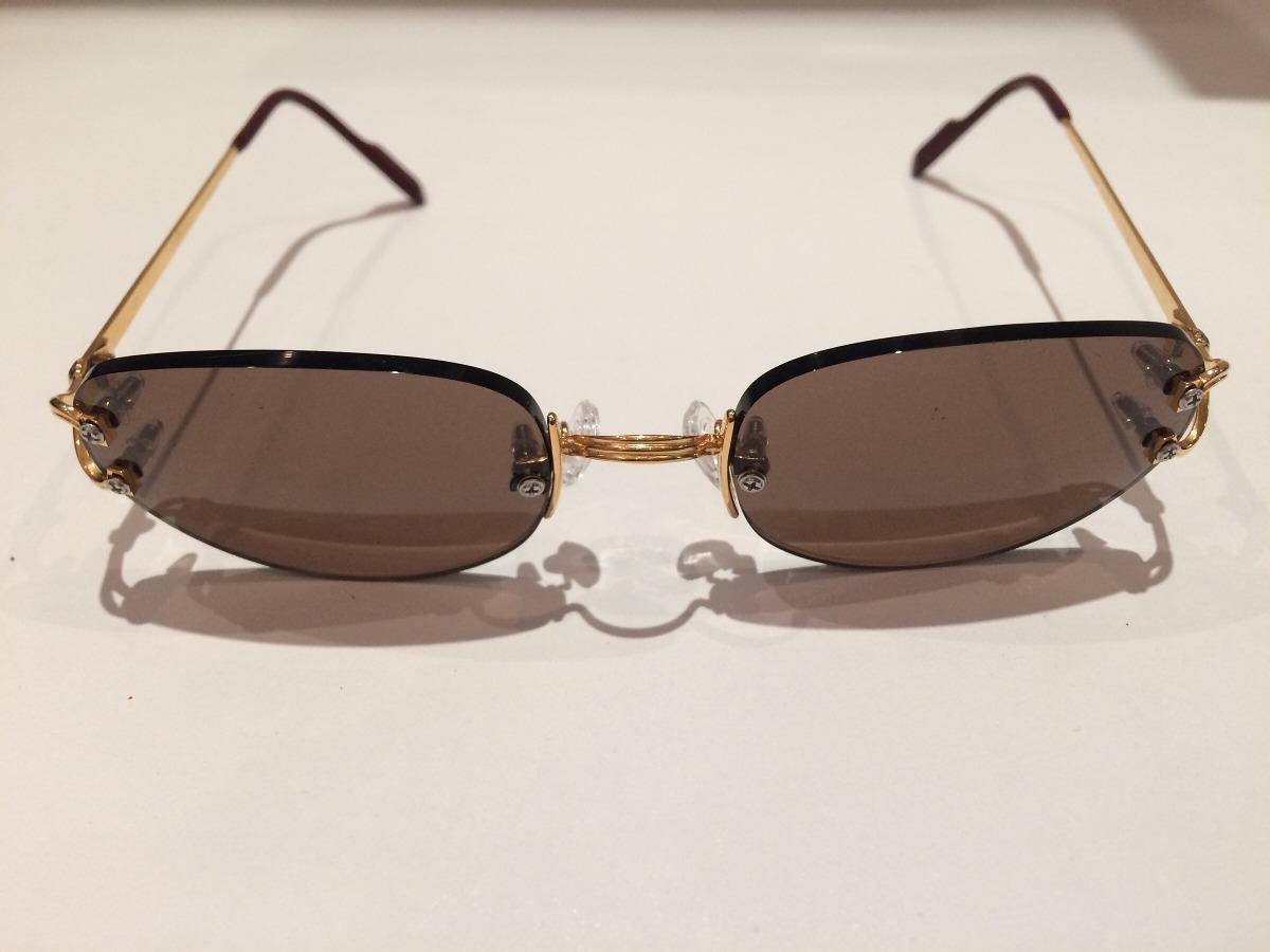 e407ece670d6c Óculos Feminino Cartier Luxo Ouro 18k - Parafusos Não Origin - R ...