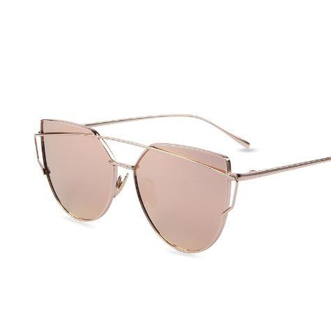 Óculos Feminino Da Moda Starlight Gato Espelhado Lindo Top - R  23 ... 9853011a6d