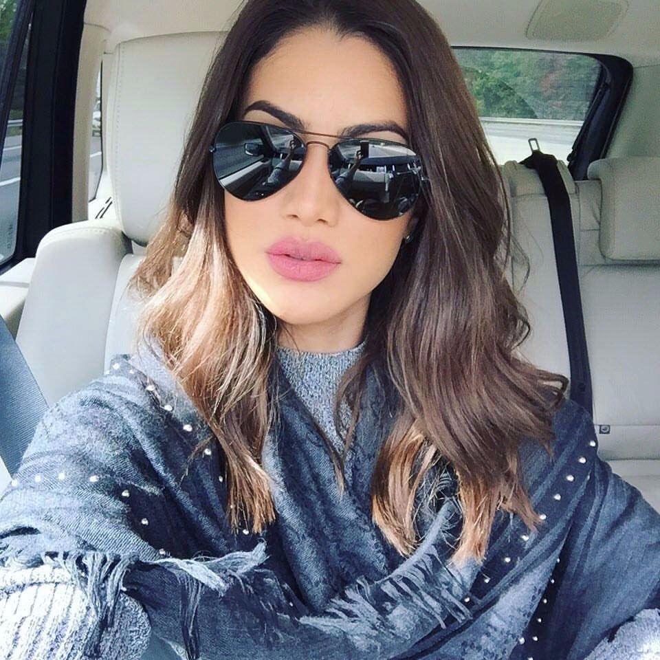 6f1cf0277f317 Óculos Feminino De Sol Aviador Preto Blogueiras Tendência - R  79