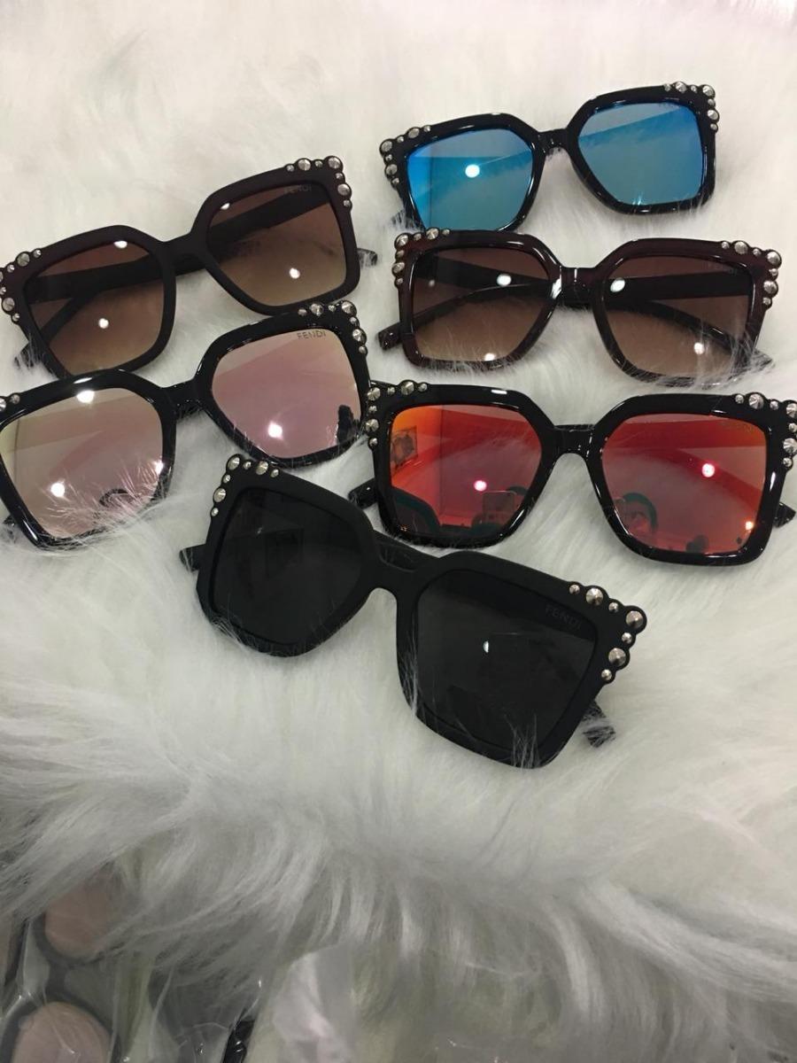 Óculos Feminino De Sol Modelo Luxo Grande Espelhado - R  44,90 em ... b2e61e5059