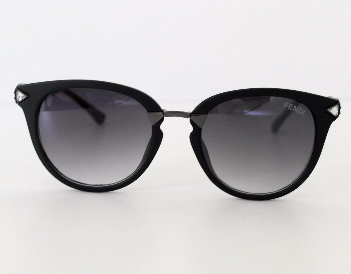 326b61cf1ecbe óculos feminino de sol preto gatinho luxo com case + brinde. Carregando  zoom.
