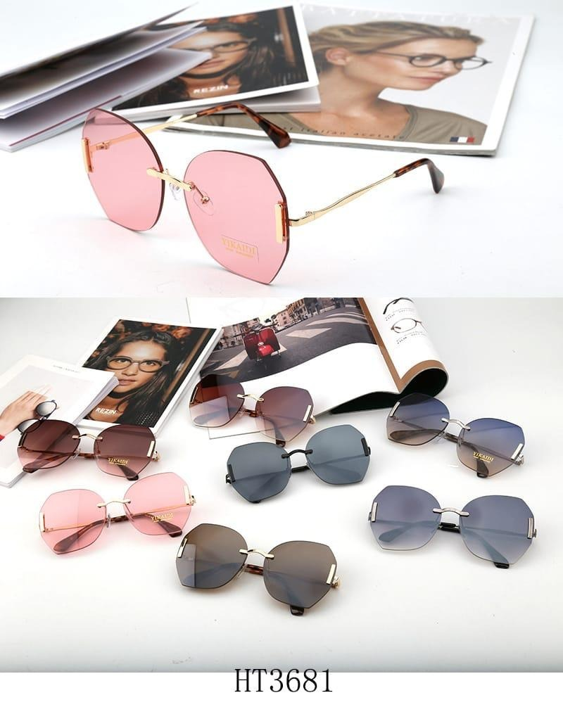 óculos feminino de sol sem aro modelo novo várias cores. Carregando zoom. 2a5ffa22d3