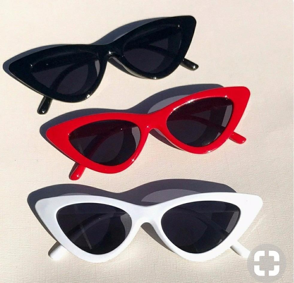 f8bc8d5da57ec óculos feminino de sol triangular gatinho anos 90 blogueira. Carregando  zoom.