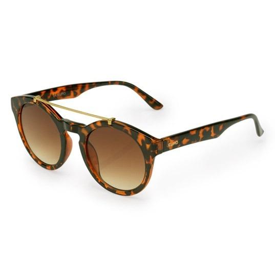 9b9d33c1c4cb3 Óculos Feminino Euro Trendy Oc0140eu 8m - Marrom - R  115,90 em ...