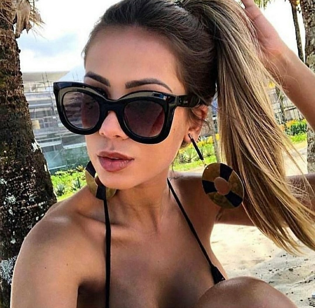 743db1154acd3 óculos feminino grande grife famosa coleção 2019 chiquerrimo. Carregando  zoom.
