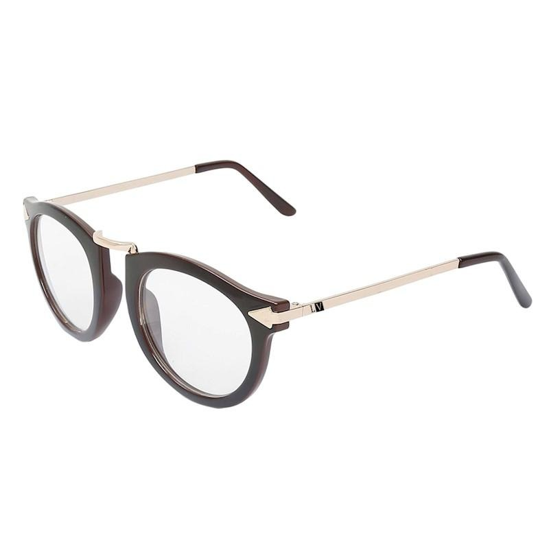 655f72c83 Óculos Feminino Luma Ventura Manu Marrom - R$ 149,90 em Mercado Livre