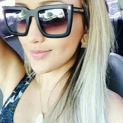 oculos feminino máscara quadrado blogueira brinde case moda