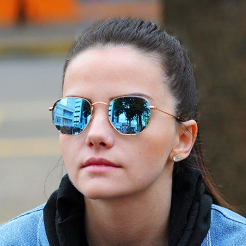 960895f007042 óculos feminino masculino promoção hexagonal moda blogueiras. Carregando  zoom.
