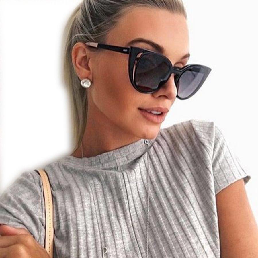 oculos feminino paradeyes blogueira preto estojo + brinde. Carregando zoom. dc351db216