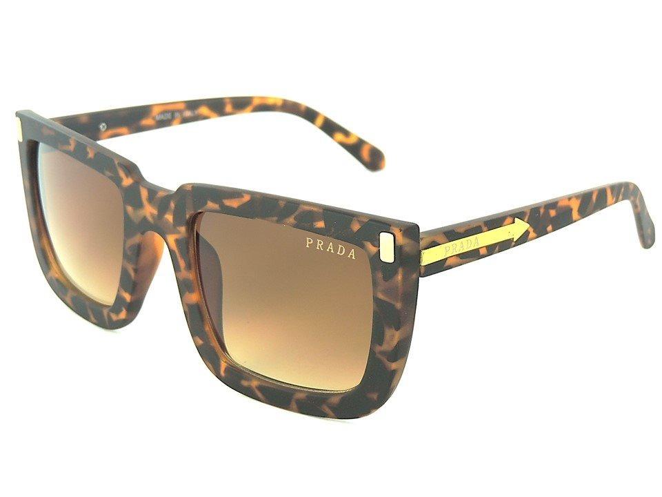 2920ce416085a Óculos Feminino Prada Feminino Ónça Proteção Uv400 Oferta - R  49