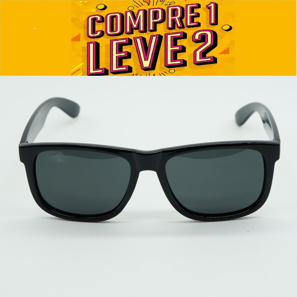 óculos feminino quadrado justin espelhado preto polarizado. Carregando zoom. c179563373