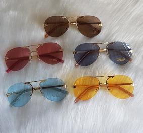 a5697bae5 Óculos Redondo Colorido Feminino - Óculos no Mercado Livre Brasil
