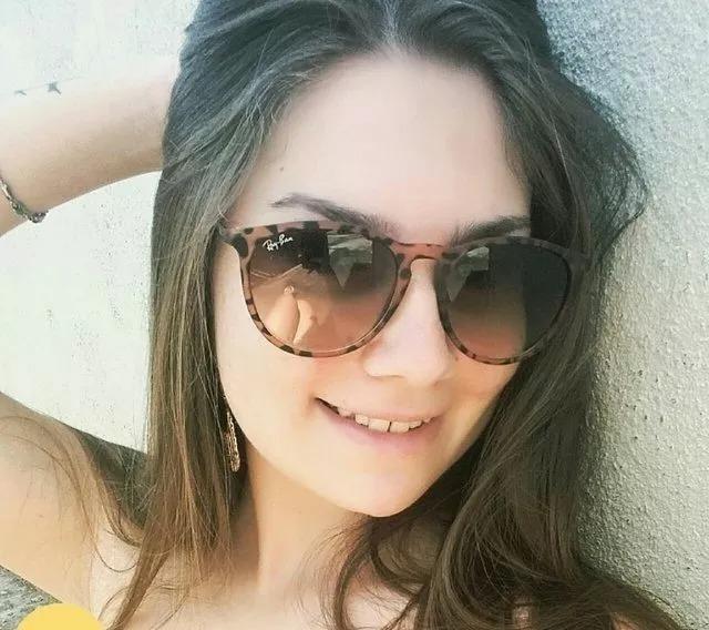 3fc09eafb492b Óculos Feminino Redondo Erika Tartaruga Tigrado Onçinha R b - R  35 ...