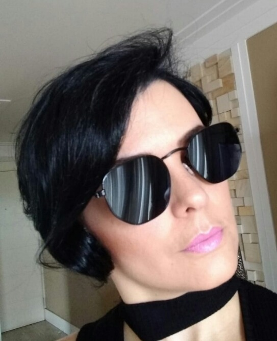 0b2ff57f57857 Óculos Feminino Retro Hexagonal Tendencia Super Verão 2019 - R  28 ...