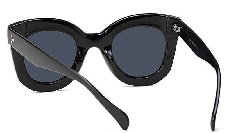 fc7d9fb5a0082 Óculos Feminino Sol Celine Marta Blog Redondo Quadrado Preto - R  45 ...