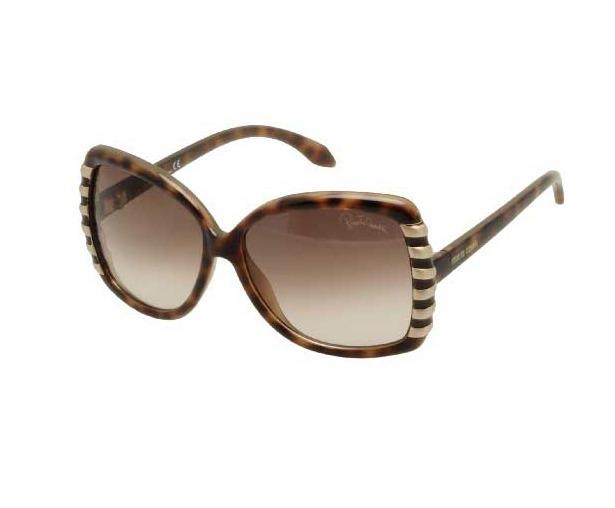Óculos Feminino Sol Roberto Cavalli Marrom 659s 52f Original - R ... f5c0c5b273