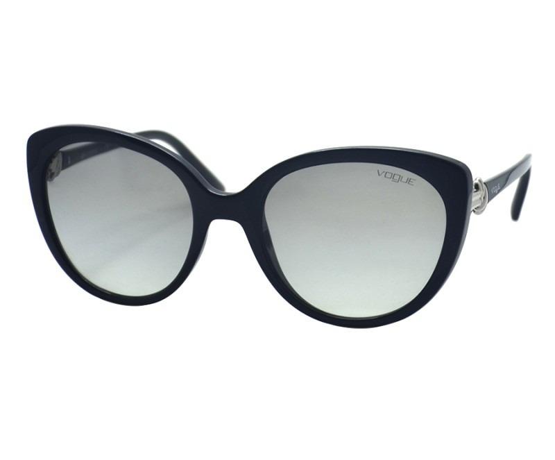 622ea6d8433c0 óculos feminino sol vogue preto degrade vo5060 original. Carregando zoom.