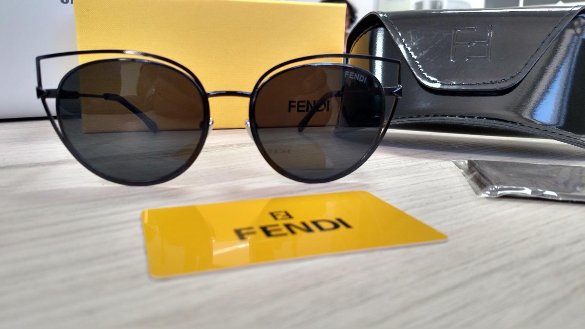 Óculos Fendi Eye Color Importado Preto - R  378,90 em Mercado Livre 3ee52eb04d