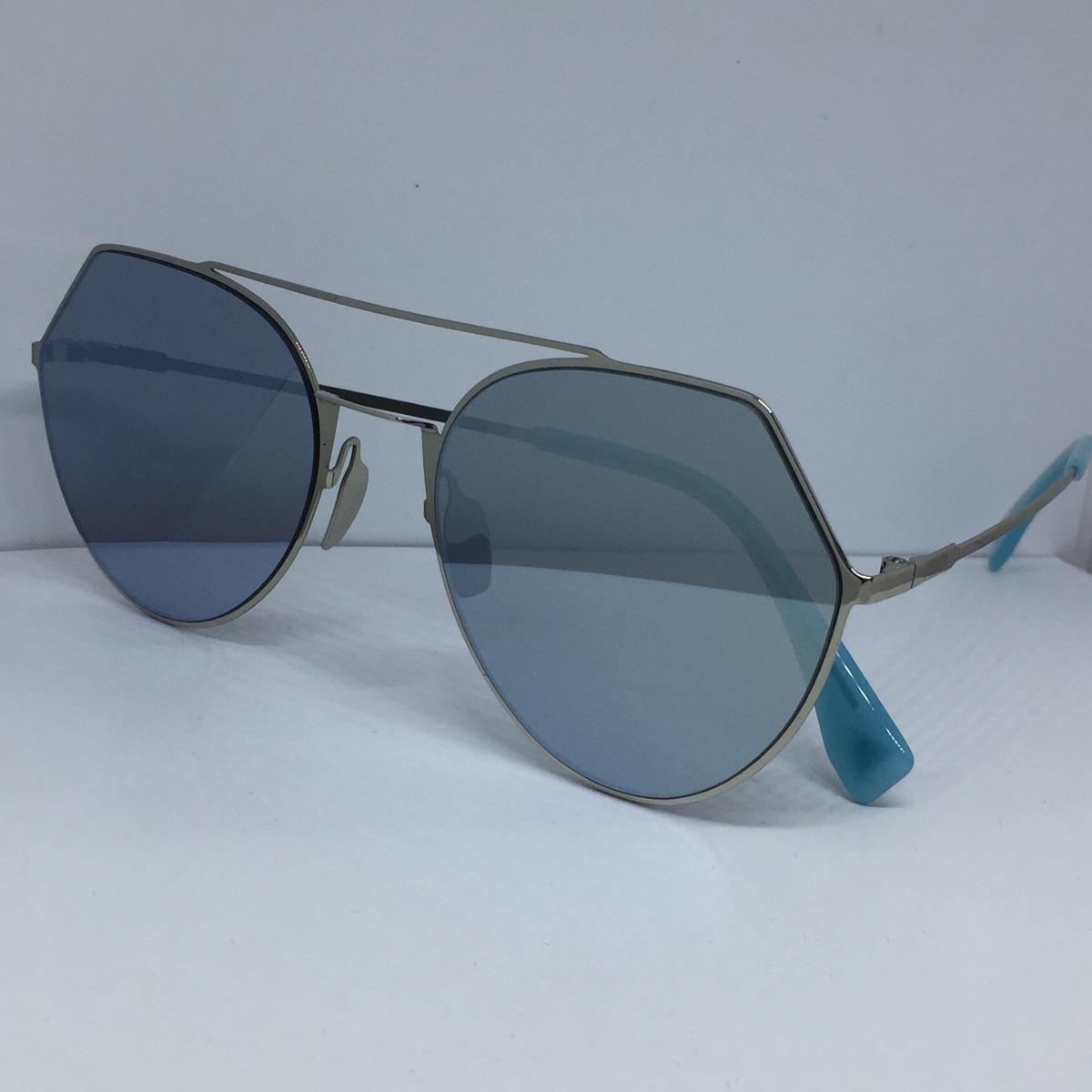 Óculos Fendi Ff0194 Eyeline Azul - R  240,00 em Mercado Livre 4dee83932e