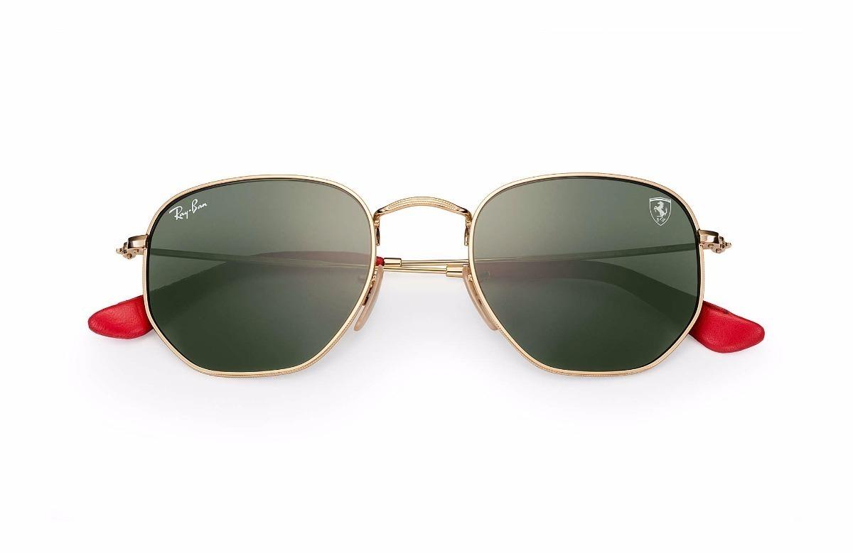 4bd7084249495 Oculos Ferrari Rb3548 Prata Feminino Masculino Unisex - R  109,90 em ...