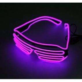 b4d8d1c878291 Oculos Neon Led Fluorescente Festas Rave Dj Eventos - Cores