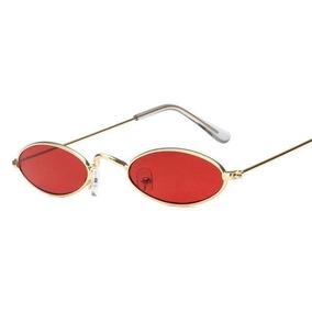 3e76986aa7 Oculo Oval Vermelho - Óculos De Sol com o Melhores Preços no Mercado Livre  Brasil