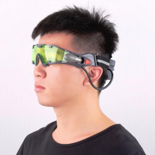 óculos flip-out visão noturna ciclismo caça - pronta entrega